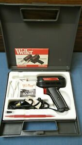 Weller Universal Multi-Purpose Soldering Gun Kit in Case w/ Extras Model 8200