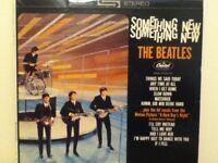 THE  BEATLES          LP      SOMETHING  NEW