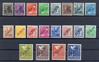 Berlin 1-20 Schwarzaufdruck postfrisch komplett tiefst geprüft (vs339)