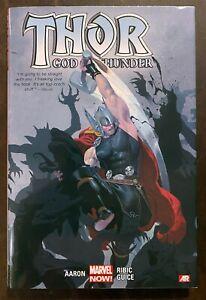 Thor God of Thunder Volume 1 God Butcher Hardcover HC Marvel Aaron FREE SHIPPING