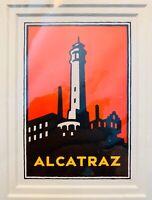 Alcatraz Island Print, M. Schwab, Golden Gate National Parks, 1995