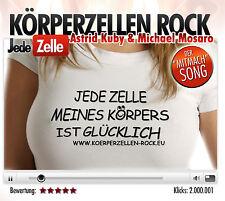 CD Körperzellen Rock Jede Zelle Meines Körpers von Astrid Kuby und Mich  MaxiCD