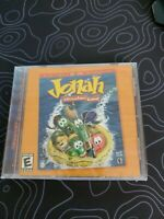 Jonah A VeggieTales Game PC Game Windows CD Childrens brand new sealed.