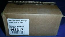 Box Of 10 Ansul 439827 R-102 1N New Style Ansul Nozzle - 1 Flow Point