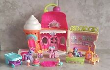 My Little Pony Ponyville Sweet Shoppe Ice Cream Parlour Playset Bundle