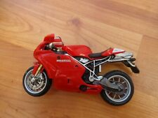 1/18 MAISTO CLASSIC DUCATI 999S TESTASTRETTA MOTORCYCLE BIKE MOTORBIKE
