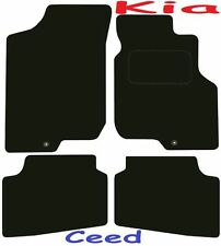 Tailored Deluxe Quality Car Mats Kia Ceed 2007-2012 ** Black ** Hatchback Estate
