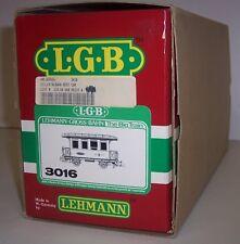 LGB G-GAUGE #3016  RhB Dining car (Red)