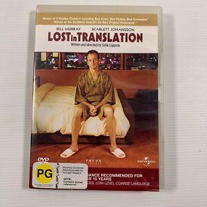 Lost in Translation (DVD 2004) Scarlet Johansson Bill Murray Region 4