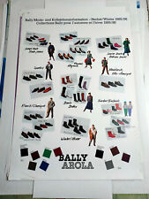 Plakat Bally Arola Herbst/ Winter 1985/86 TOP!