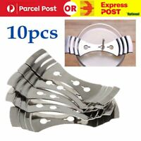 10Pcs Metal Candle Wick Holders Perfect to Center wicks Candle Making Supplies