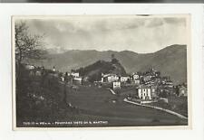 79399 TEGLIO LPANORAMA DA SAN MARTINO FORMATO PICCOLO 1948 PROV DI SONDRIO