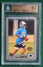 Steve Smith rookie card graded BGS 9.5 Gem Mint  2001 Topps Carolina Panthers RC