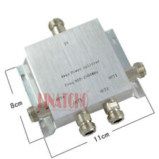 signal repeater 800-2500MHz power divider 4 way n female antenna power splitter