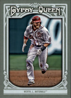 2013 Topps Gypsy Queen Baseball #57 Jayson Werth Washington Nationals