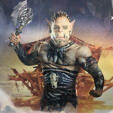Adult Halloween Costume World of Warcraft Durotan Prestige Disquise XL Cosplay