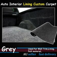 Grey Gray 2M x 7M Underlay Underfelt Carpet 2mm Thick Wall Trim Mat Car SUV UTE