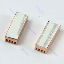 HOT! 8pcs Copper Heat Sink Heatsinks Cooler For PC Computer DDR DDR2 Memory RAM