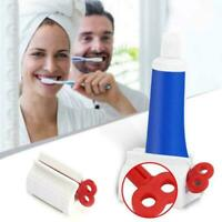 Toothpaste Squeezer Rolling Tube Squeeze Dispenser Toothpaste-Seat Holder X0X5
