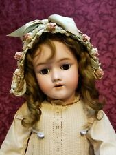 Antique German Bisque Head Doll Simon Halbig Heinrich Handwerck Matching Body