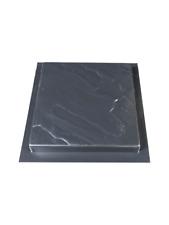 More details for 450x450x38 rivenstone slab paving mould  3mm abs