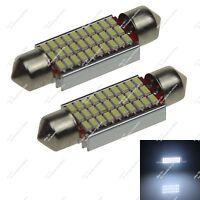 10X White 39MM 40MM 6476 8 SMD 5050 LED Festoon Light Interior Bulbs Car ZI203