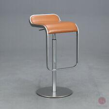 Lapalma LEM Barhocker 66-79 cm Barstuhl Klassiker Leder Stuhl Design Klassiker