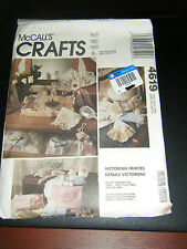 McCall's Crafts 4619 Ladies Victorian Style Travel & Vanity Accessories Pattern