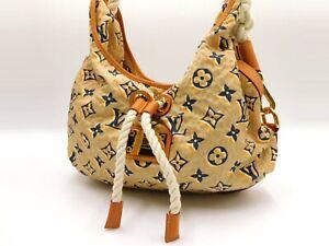 LOUIS VUITTON Cruise Line Bulles MM Shoulder Hand Bag Monogram Beige M40236 7160