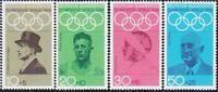 Stamps Germany Olympics 1968 B434/B437 Set Semi-Postals only MNH
