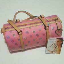 NWT Dooney & Bourke Bubble Gum Barrel Bag 11'X 7'