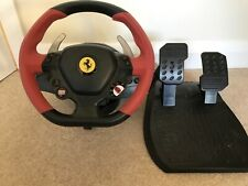 THRUSTMASTER - Xbox One Ferrari 458 Spider Racing / Steering Wheel & Pedal Set