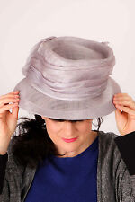 Lilac violet purple formal hat with bow Formal, Wedding Races, Mother of Bride