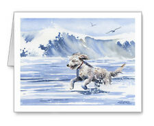 Goldendoodle At The Beach Set of 10 Note Cards With Envelopes