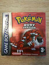 Pokémon: Ruby Version LEERVERPACKUNG OHNE SPIEL