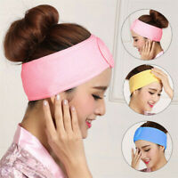 Women Towel Hair Band Wrap Wide Headband Spa For Shower Bath Yoga Sport Make Up