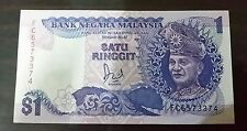 1 Ringgit Malaysia paper bill