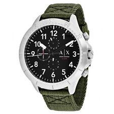 Armani Exchange Men's AX1759 'Aeroracer' Chronograph Green  Watch