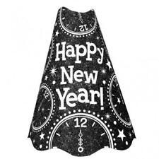Globos de fiesta Amscan color principal negro año nuevo