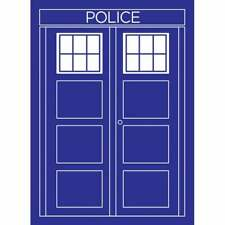 POLICE BOX (Doctor Who/TARDIS style) card sleeves 50 - NEW - LEGION