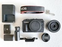 Canon EOS M + EF-M 22mm + EXTRAS