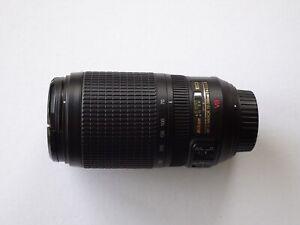 Nikon 70-300mm f/4.5-5.6 VR G ED lens