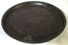 Huge Antique Hand Carved Granite Stone Platter/Tray India Temple Offering