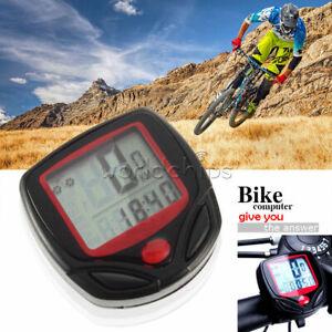 Bici Ciclo Bicicletta Wireless Computer Tachimetro Contachilometri Impermeabile