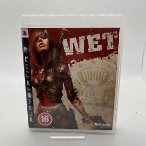 Wet (Sony PlayStation 3, 2009) Complete Excellent Condition Free Postage