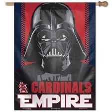 "ST. LOUIS CARDINALS EMPIRE DARTH VADER 27""X37"" BANNER FLAG BRAND NEW WINCRAFT"
