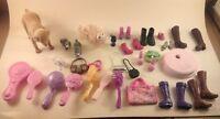 VTG Mattel Barbie Moxie Monster High accesories SHOES PETS PURSES DOGS - Lot #3