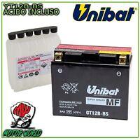 Batería UNIBAT CT12B-BS Sellado Moto Guzzi V10 Centauro 1000