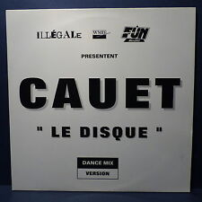 """MAXI 12"""" CAUET Le disque WM 001 PROMO MONO FACE"""