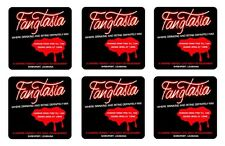 FANGTASIA COASTERS 1/4 BAR & BEER SET OF 6
